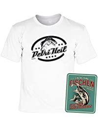 Angelshirt Angelsport Bekleidung Angeln Angler T-Shirt Fische Hooker Specialist