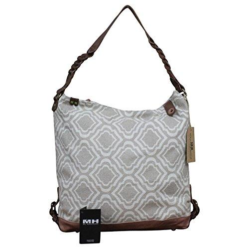 Desiderius Canvas Shopper Schulter Tasche Canvas Leder Vintage NEW + Tuch Gratis, Modell:Modell 1 Modell 1