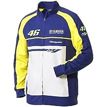 Yamaha–Chaqueta con cremallera para hombre con cremallera VR46M1Valentino Rossi VR46Factory Racing Team Moto GP MF1