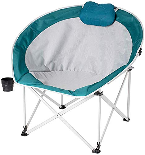 Folding Camping-Stuhl, Armless Heavy Duty 220lbs Kapazität atmungsaktiv und komfortabel für Extras Power Im Freien, Grill, Wandern, Picknick, Angeln, Festival -
