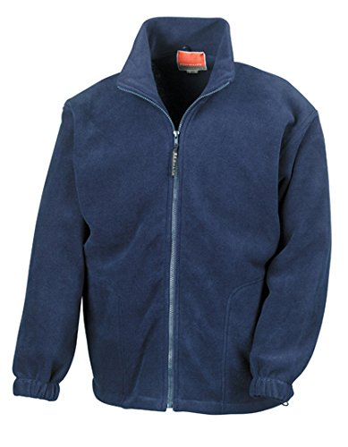 Result Polartherm Jacke XL Navy (Yoga Jacke Blau)