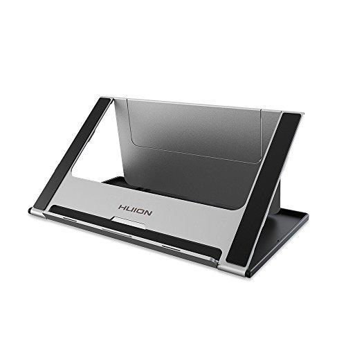 HUION Verstellbarer Halter Stand Faltbarer Tischständer für GT-156 HD V2 / Ipad/MacBook Grafiktablett Zeichnung Monitor