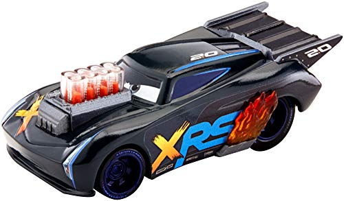 Disney Cars GFV36 - Xtreme Racing Serie Dragster-Rennen Die-Cast Jackson Storm (Racing Toy Car)
