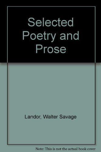 Title: Selected Poetry and Prose
