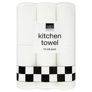 Chef's Essentials Kitchen Towel 12 Roll