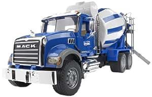 Bruder 02814 - Camion toupie à beton MACK - Bleu