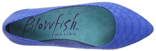 Blowfish Damen Click Geschlossene Ballerinas Blau (Cobalt)