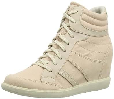 Esprit Blomma Wedge, Baskets mode femme - Beige - Beige (cream beige 269), 40 EU