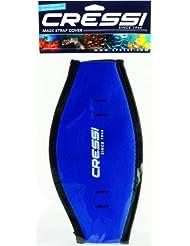 cressi Mask Strap - Funda de correa de surf, tamaño único, color azul