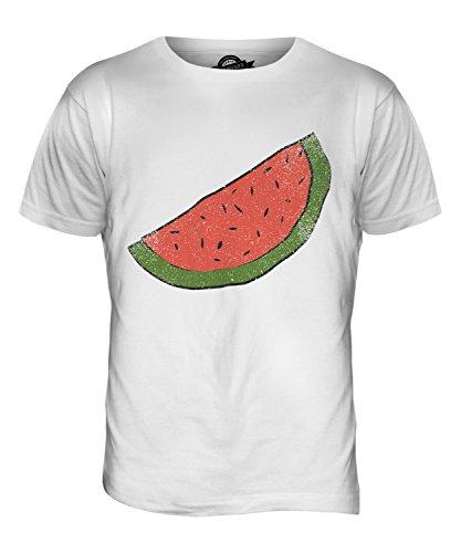 CandyMix Melonenscheibe Herren T Shirt Weiß