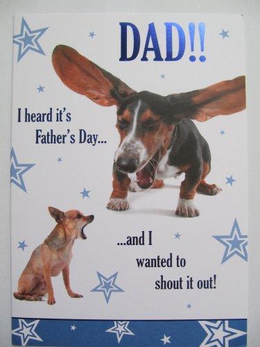 fantastico-i-escuchado-su-dia-del-padre-shout-it-out-padres-dia-tarjeta-de-felicitacion