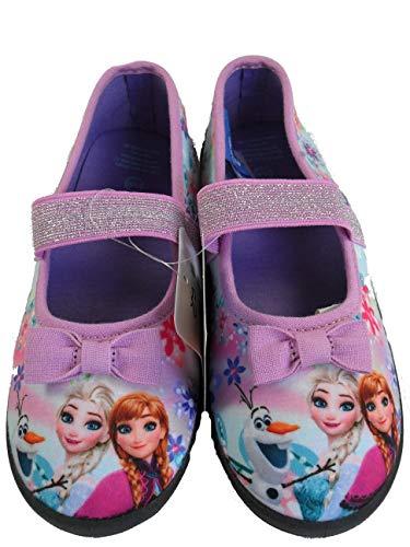 Disney Eiskönigin Frozen Schuhe Hausschuhe (29/30)