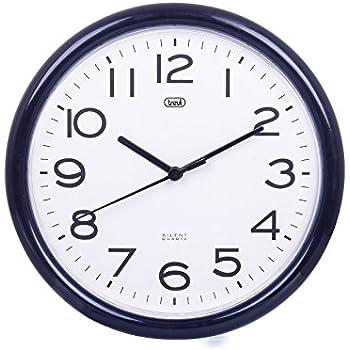 Hama orologio da muro radiocontrollato pg 300 nero for Orologio da muro farfalle