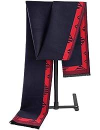 Aooaz Écharpe pour hommes Femmes Design Simple Écharpe d hiver en cachemire  écharpes homme 5d1638fc1ea