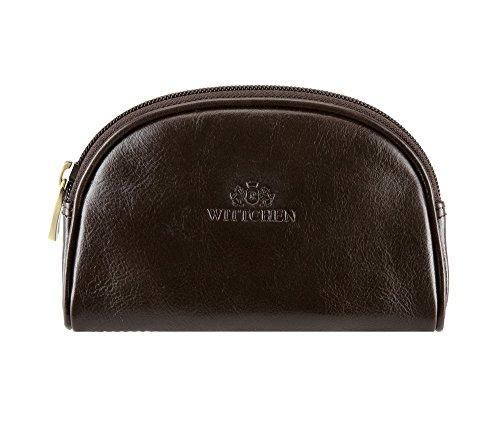 Wittchen Vanity   Couleur: Marron   Cuir de grain   La taille (cm): 10 x Largeur (cm): 15   Collection: Italy   21-3-006-4