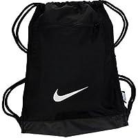 f602fd6dd38a NIKE Alpha Adapt Team Training Drawstring Gymsack Backpack 600 Denier Sport  Bookbag (Classic Black