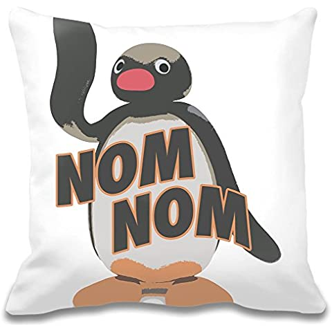 Nom Nom Custom decorative pillow| Ultra suave & Premium Calidad polyester| personalizar tu almohada W/Nuestra Única y auténtico designs| decorativo almohadas por Bang Bangin