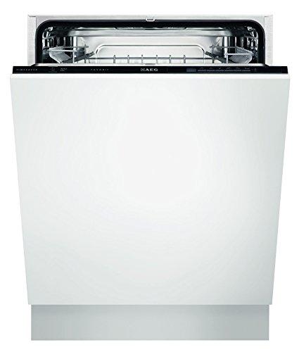 AEG Electrolux FAVORIT F26302VI0 Geschirrspüler (vollintegriert) / Energieklasse A++ (262 kWh pro Jahr) / leiser Einbaugeschirrspüler / Spülmaschine / Geschirrspülmaschine / weiß & schwarz