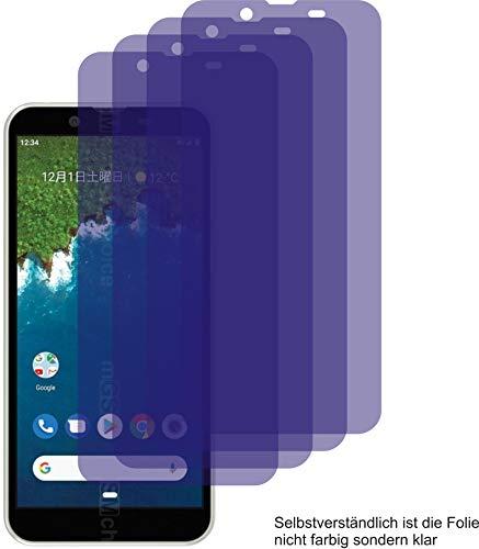 4X ANTIREFLEX matt Schutzfolie für Sharp Android One S5 Displayschutzfolie Bildschirmschutzfolie Schutzhülle Displayschutz Displayfolie Folie