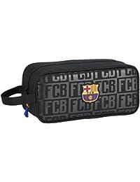 FC Barcelona Neceser, 34 cm, Negro