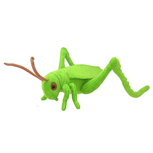 Wild Planet All About Nature - Peluche Saltamontes, Verde,...