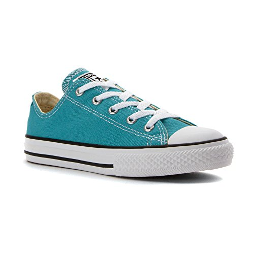 Converse Kids Chuck Taylor All Star Ox Canvas Trainers AEGEAN AQUA