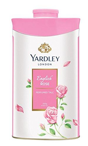 Yardley London - English Rose Perfumed Talc for Women, 250g