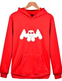 SERAPHY Niño Sudadera con Capucha Marshmello Electroacoustic Hoodie Hip-Hop  Primavera Otoño Invierno Sweatshirt Top c2fdd38a8b9