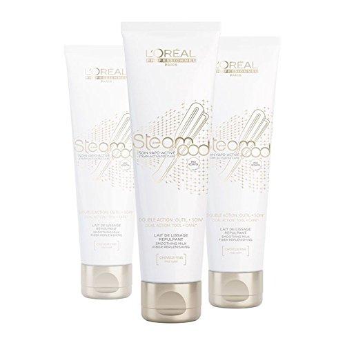 Lot de 3 Crèmes de lissage Steampod - Cheveux Fins Pro Active 150 ml