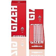 GIZEH CARTINE FINE ROSSA - 50 LIBRETTI