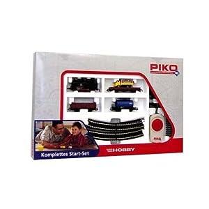 Piko 57111  - Set de circuitos y tren de carga  Importado de Alemania