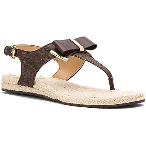 Michael Kors - Sandalias de vestir para mujer Marrón marrón