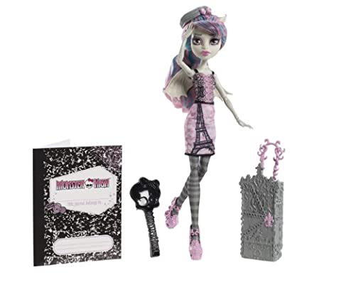 Mattel Monster High Y7660 - Scaris Deluxe Rochelle, Puppe (Yeti-kostüm Kinder)