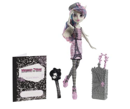 Mattel Monster High Y7660 -  Scaris Deluxe Rochelle, Puppe (Party Stadt Tier Kostüme)
