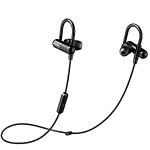 bluetooth headphones mpow capsule wireless headphones running earphones stereo headsets. Black Bedroom Furniture Sets. Home Design Ideas
