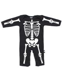 Con mangas para bebé de esqueleto músculos