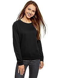 oodji Ultra Damen Baumwoll-Sweatshirt (2er-Pack)