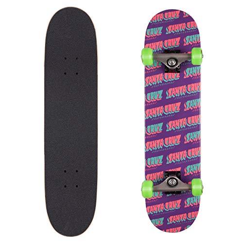 Santa Cruz Skateboard Set Completo Flow Strip - 7.5 inch Porpora (Default, Porpora)