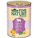 Dehner Fine Nature Hundefutter, Adult Lamm, Probiergröße, 400 g