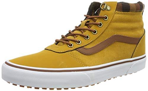 Vans Herren Ward Hi Mte Hohe Sneaker, Beige ((Mte) Honey/Plaid V1u), 46 EU