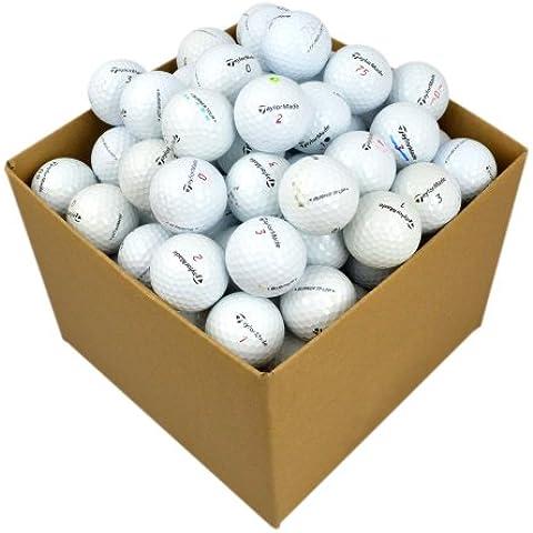 Second Chance, Lake Balls Golf TaylorMade 100 Premium Grade A, Bianco (weiß), Taglia unica