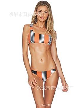 Conjuntos de Bikini Sexy Traje de Baño Trajes de Baño Bañador de Adelgazamiento La Moda Femenina 8079, Figura...