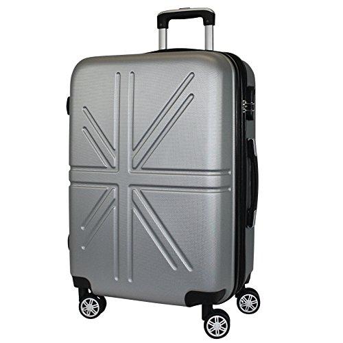 Reisekoffer / Koffer/ Zwillingsrollen/ Handgepäck / Bordcase / Madrid 2 Größe M / Volumen ca 45 Liter