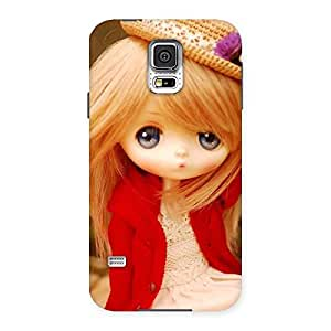 Stylish Tiny Bride Girl Multicolor Back Case Cover for Samsung Galaxy S5