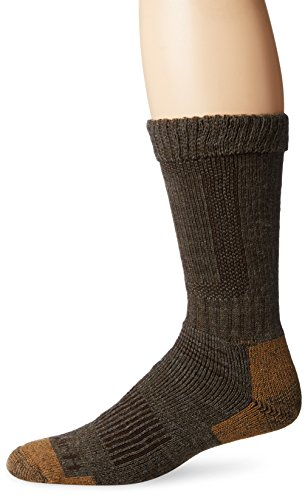 Carhartt Men's Comfort Stretch Steel Toe Socks, Brown, Sock Size:10-13/Shoe Size: 6-12 Carhartt Steel Toe Boots