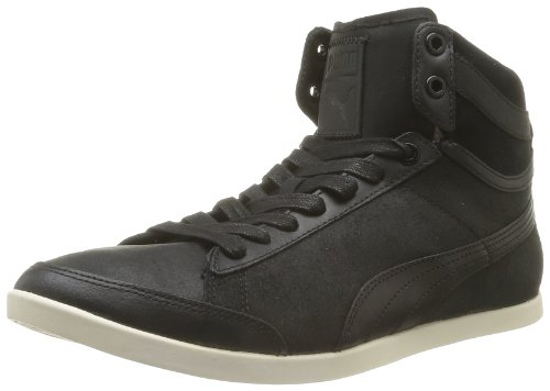 Puma Catskill Mid, Chaussures de ville homme Noir (Black/Shadow/White Swan)
