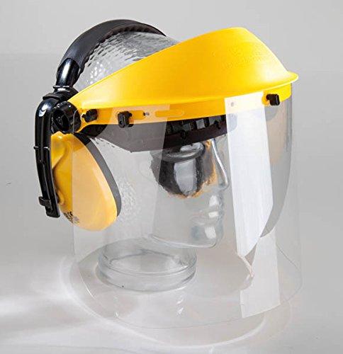 Preisvergleich Produktbild Gehör- und Gesichtsschutz mit Klarsicht-Visier