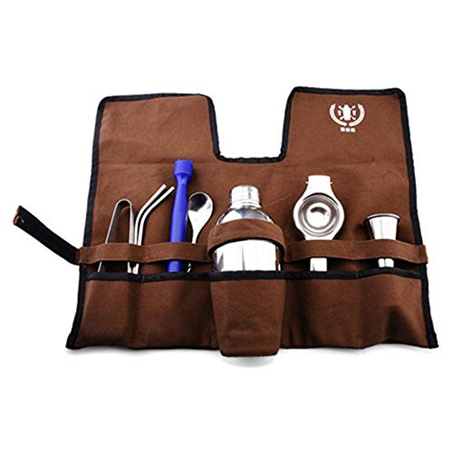 550Ml Stainless Steel Cocktail Shaker Bar Set Bartender Kit Wine Martini Mixer Boston Shaker For Party Bar Tool,Tools And Bag