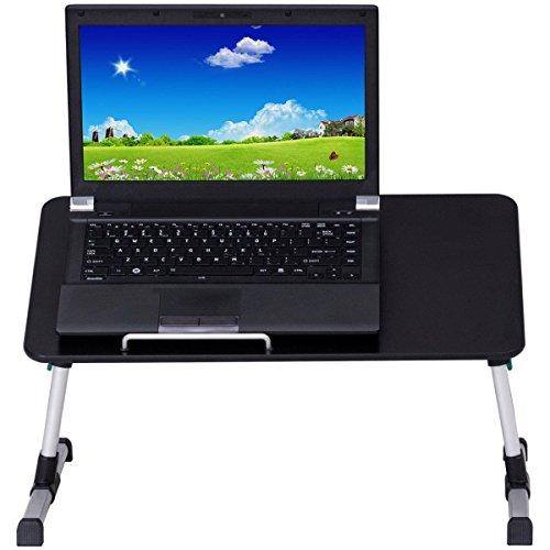 Mushanzhou Notebookständer Klappbare Höhenverstellbare Tragbare Computer Schreibtisch Portable Bettpfanne Bett Tablett Tisch Vertikal Frühstück Fach, Eine (Frühstück-kühler)