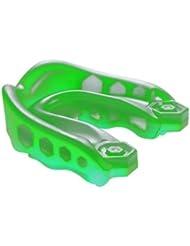 Shock Doctor Youth Gel - Protección de boca de fútbol infantil, tamaño Joven, color verde